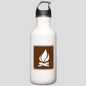 Campfire Sign Stainless Water Bottle 1.0L