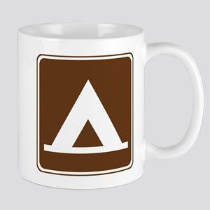 Camping Tent Sign Mug