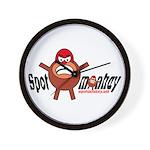 Spotmonkey.Net Wall Clock
