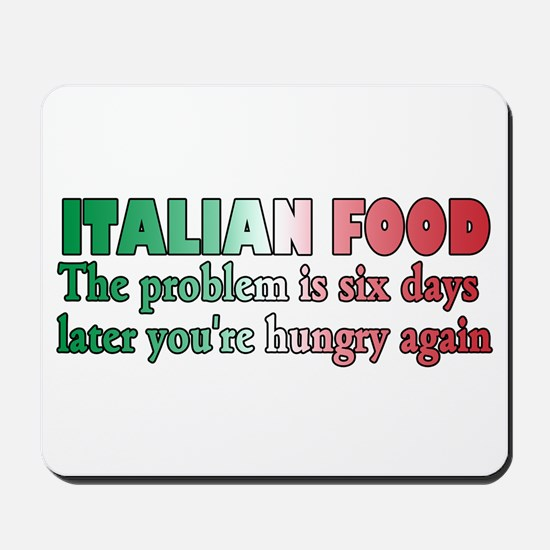 Italian Food Mousepad