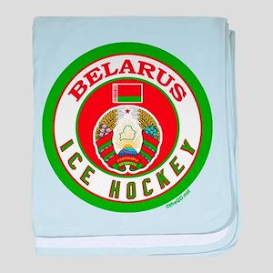 BY Belarus/Bielarus Ice Hockey baby blanket