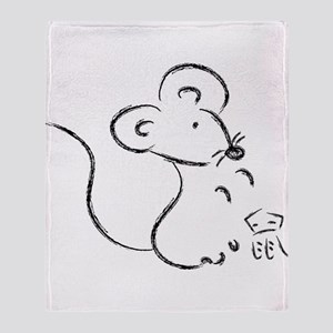 Year of the Mouse Throw Blanket