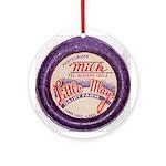 Little May Dairy Farm -- Algi Ornament (Round)