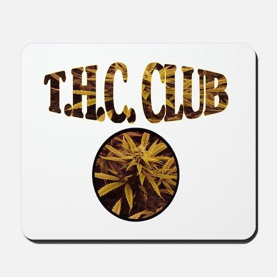 T.H.C. CLUB Mousepad