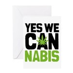 Yes We Cannabis 2 Greeting Card