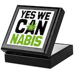 Yes We Cannabis 2 Keepsake Box