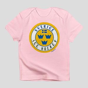 SE Sweden/Sverige Hockey Infant T-Shirt
