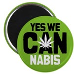 Yes We Cannabis 2 Magnet