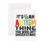 Autism Thing Greeting Cards (Pk of 20)
