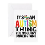 Autism Thing Greeting Card