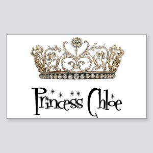 Princess Chloe Sticker (Rectangle)