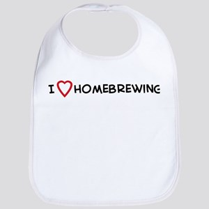 I Love Homebrewing Bib