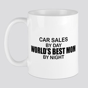 World's Best Mom - Car Sales Mug
