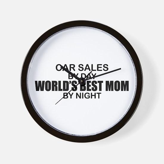World's Best Mom - Car Sales Wall Clock