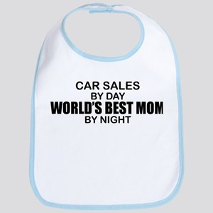 World's Best Mom - Car Sales Bib