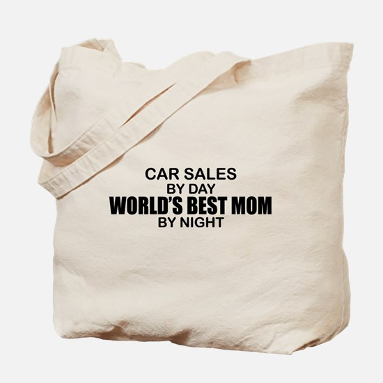 World's Best Mom - Car Sales Tote Bag