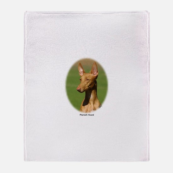 Pharaoh Hound Throw Blanket