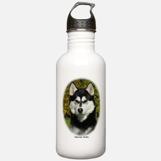 Siberian Husky 9P046D-46 (2) Water Bottle