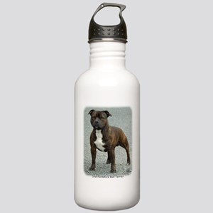 Staffordshire Bull Terrier 9F23-12 Stainless Water