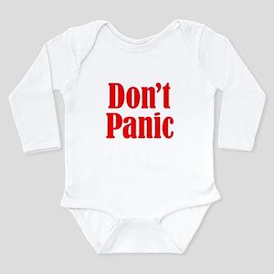 Don't Panic Long Sleeve Infant Bodysuit