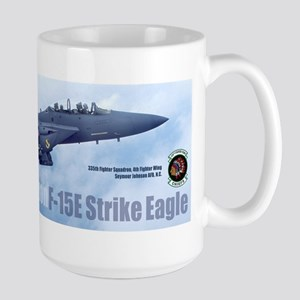 335th Fighter Squadron Large Mug