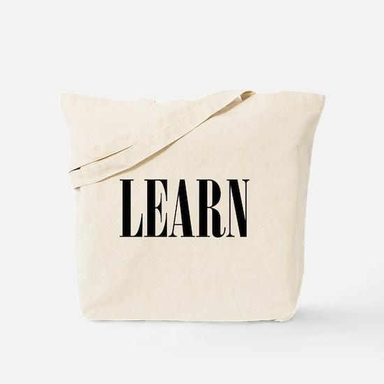 Learn Tote Bag