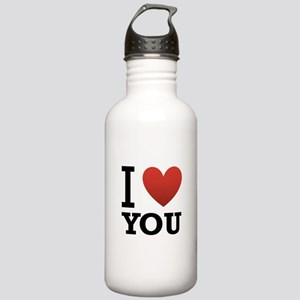 I Love You Stainless Water Bottle 1.0L