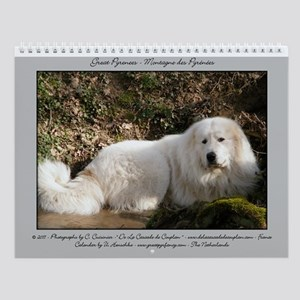Great Pyrenees Wall Calendar - Berger....