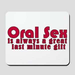 Last Minute Gift Mousepad