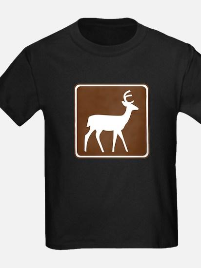 Deer Viewing Area Sign T