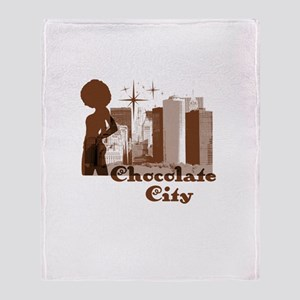 Riyah-Li Designs Chocolate City Throw Blanket