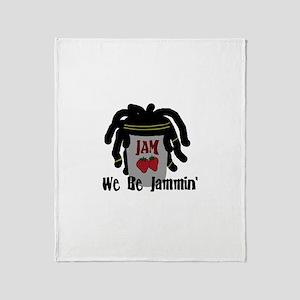 Riyah-Li Designs We Be Jammin Throw Blanket