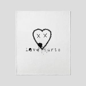 Riyah-Li Designs Love Hurts Throw Blanket