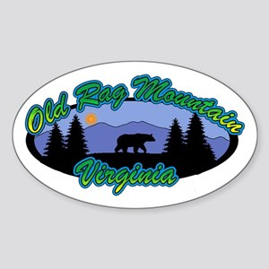 OLD RAG Sticker (Oval)