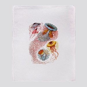 Jellyfish Throw Blanket