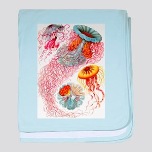 Jellyfish baby blanket