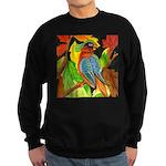 Colorful Parrot Sweatshirt (dark)