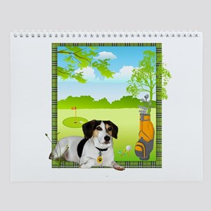 Arnie Goes Golfing by Vampire Dog Wall Calendar