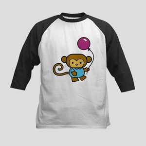 Bobo Monkey Kids Baseball Jersey