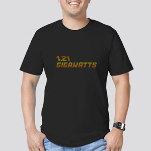 BTTF Men's Fitted T-Shirt (dark)
