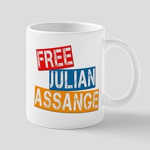 Free Julian Assange Mug