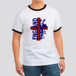 St George and lion Ringer T