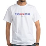 Gravy Train 2-sided White T-Shirt