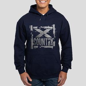Cross Country Grunge Hoodie (dark)