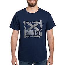 Cross Country Grunge Dark T-Shirt