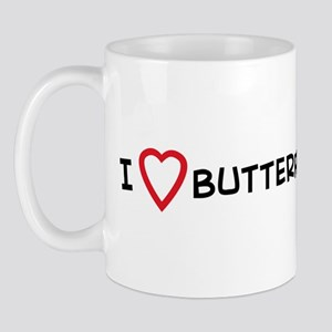 I Love Butterfly Watching Mug