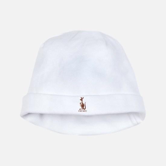 G'Day Mate Kangaroo baby hat