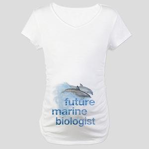 future Marine Biologist Maternity T-Shirt