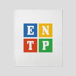 Myers-Briggs ENTP Throw Blanket