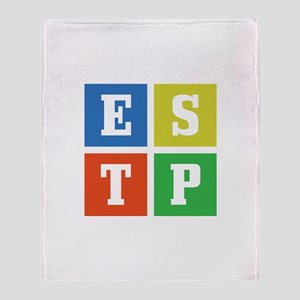Myers-Briggs ESTP Throw Blanket